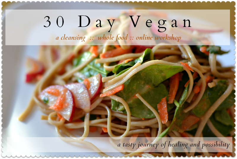 30dayvegan large postcard