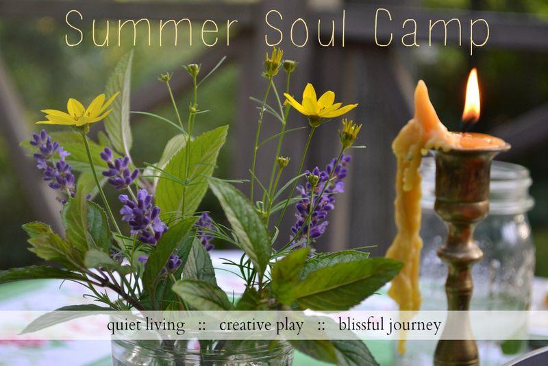 Summer soul postcard