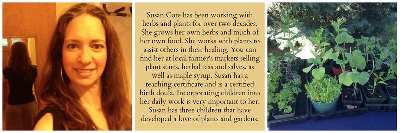 Susan bio