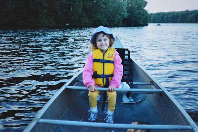 Emily canoe